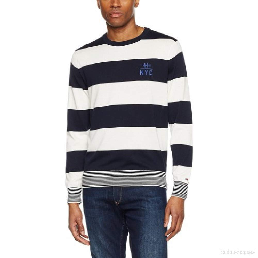 Tommy Hilfiger Block STP Tipped C-nk CF suéter para Hombre