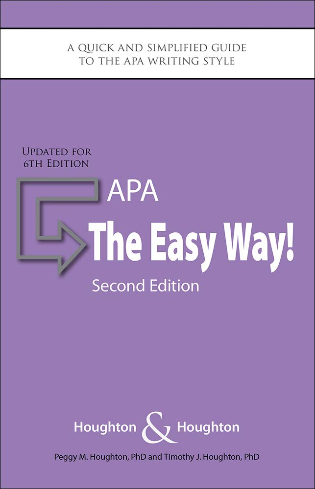 APA: The Easy Way!: Updated for the APA 6th Edition