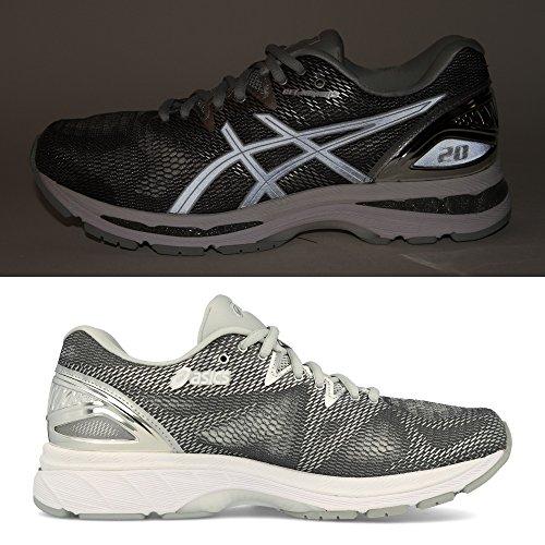Asics Zapatillas de Running de Tela, Sintético Para Mujer Plateado Plata plata