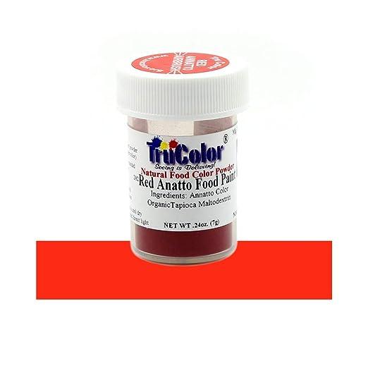 Amazon.com : TruColor Red Annatto Airbrush Natural Food-Coloring ...