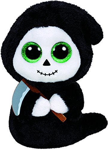 "Ty Beanie Boos ~ GRIMM the 6"" Halloween Ghost w/ Sickle ~ 20"