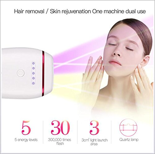 IPL Laser Epilator Shaver Hair Removal Permanent Electric Depilator Depilatory For Facial Body Smooth Touch Unisex Hair Remover