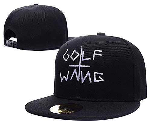 HAIHONG Odd Future Golf Wang Logo Adjustable Snapback Embroidery Hats Caps - - Golf Designs Embroidery