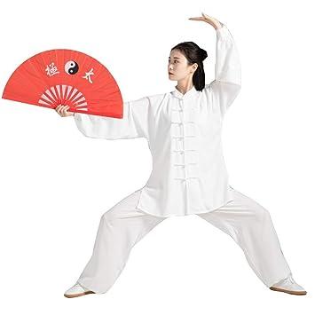dududrz Tai Chi Uniforme Transpirable Estilo Chino Traje ...