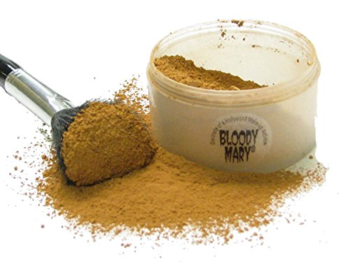 Bloody Mary Makeup Loose Setting Powder, Dirt (Brown Brick)]()