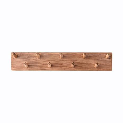 Amazon.com: CB - Perchero de madera maciza, para salón ...