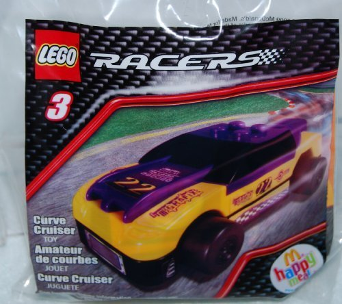 McDonalds Happy Meal 2009 Lego Racers - Curve Cruiser #3 by McDonalds