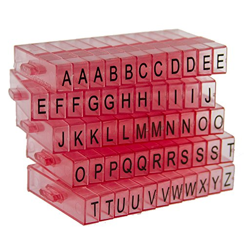 (Sweet Elite Tools - Snap Together Mini Letter Embosser Stamps for Cakes, Cupcakes, Cookies, Rolled Fondant, Gumpaste, or Clay -by Autumn Carpenter )