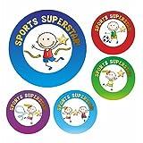 Sports Superstar Reward Stickers Sport Activity Club