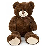 Large Ultra Soft and Cozy Plush Teddy Bear, 3 Feet - Brown