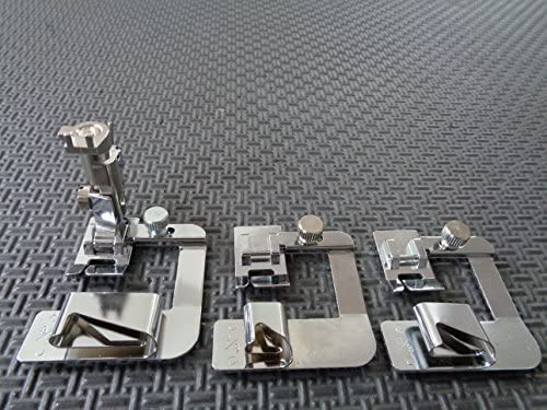 [해외]NGOSEW Rolled Hemmer Hem Foot 12341 for Bernina Old Style 530-1630730-1630 / NGOSEW Rolled Hemmer Hem Foot 12341 for Bernina Old Style 530-1630730-1630