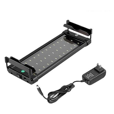Alicedreamland Luz del Acuario del LED, Iluminacion LED para Peceras para 30cm-50cm,