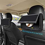 NAVISKAUTO Dual Car Headrest Mount Holder Bracket