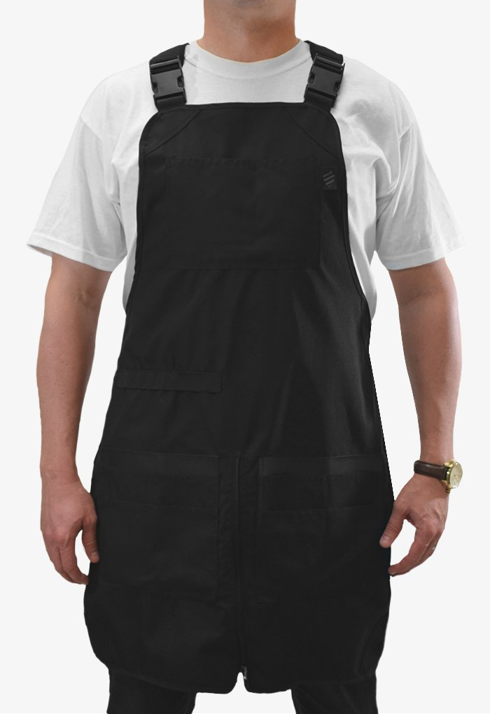 Barber Strong Apron, Black, by Barber Strong