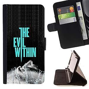 - the evil within you/ Personalizada del estilo del dise???¡¯???¡Ào de la PU Caso de encargo del cuero del tir???¡¯????n del s - Cao - For Sony Xperia Z1