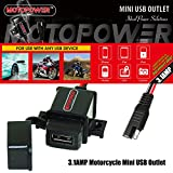 MOTOPOWER MP0609A 3.1Amp Motorcycle USB Charger Kit
