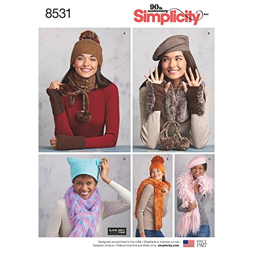 Simplicity Creative Patterns 8531 Sewing Pattern Accessories, A (S-M-L)