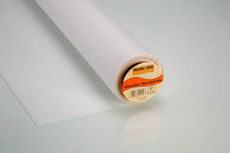 Vlieseline Vliesofix Klebeweb auf Tr/ägerpapier zum Verbinden von Stofflagen z.B Applizieren Basteln Reparieren 0,90 m x 1 m