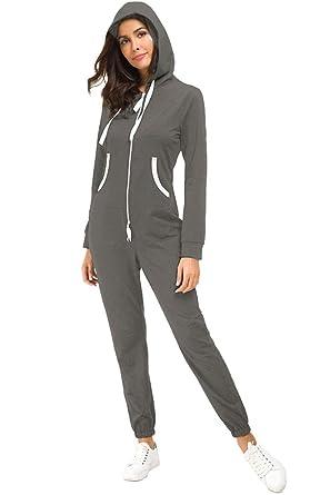 Top-Vigor - Chándal - para Mujer Gris Grey#1 S: Amazon.es: Ropa y ...