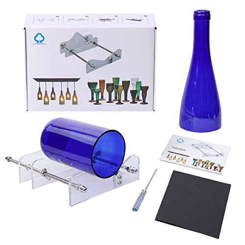 Lanmu lanmu bottle cutter glass cutting tool wine bottle for Diy wine bottle cutter