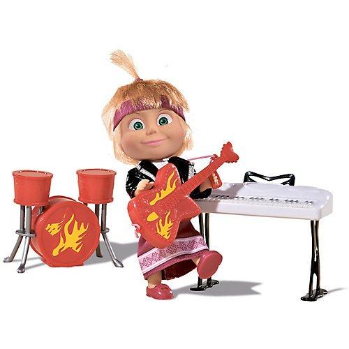 Girl The Famous Cartoon Gift RusToyShop 12 cm Doll Masha Toy Doll Masha and The Bear Birthday 4.7 inch
