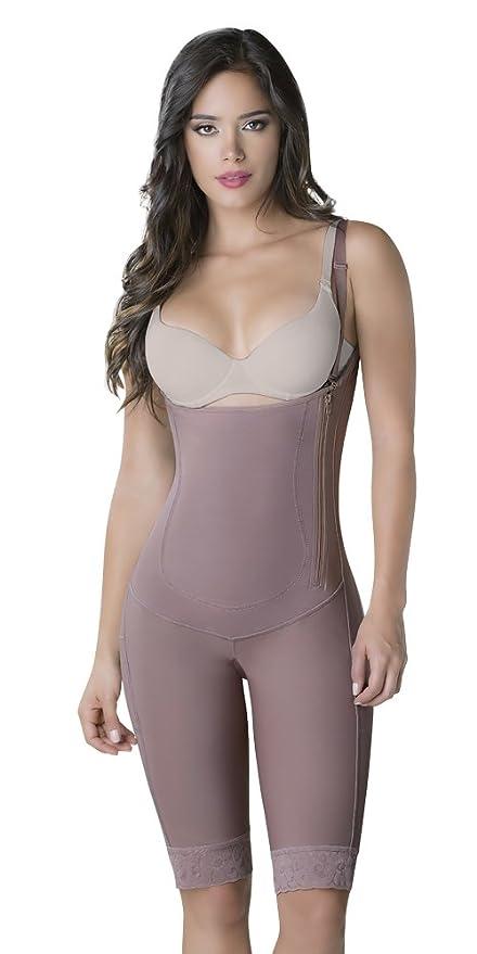 cc745aadcc Amazon.com  Thaxx Colombian Shapewear Women s Slimming Knee-Length Body  Shaper (1373090) (4X-Large