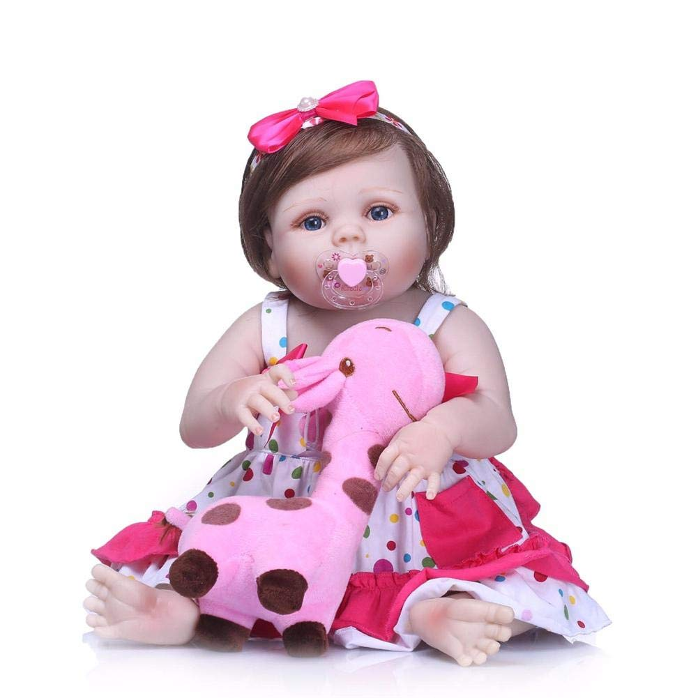 marca de lujo Juguete de la muñeca de de de la muñeca del juguete de la muñeca de la muñeca del cuerpo suave, muñecas renacidas del silicón lleno asible, muñeca del bebé de la moda del renacimiento del bebé de lo  marca en liquidación de venta