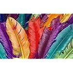 Carta Da Parati 3D Fotomurali Colore Piuma Moderno Camera da Letto Decorazione da Muro XXL Poster Design Carta per… 51CiIzaLwkL. SS150