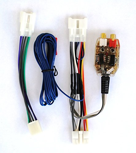 Factory Radio Amp Amplifier Interface Install Adapter Wiring Wire Harness Cable (Factory Radio Interface)