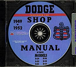 fully illustrated 1949 1950 1951 1952 dodge repair shop & service 1995 dodge ram wiring diagram flip to back flip to front