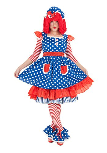 Raggedy Ann Adult X-Large