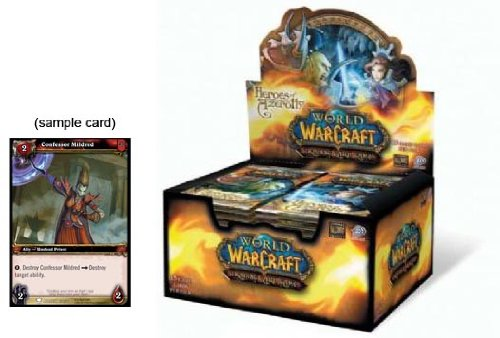 World of Warcraft TCG Heroes of Azeroth Booster Box (24 Packs)