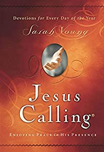 Hardcover Jesus Calling: Enjoying Peace in His Presence (with Scripture References) Book