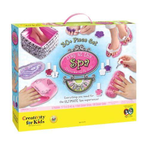 Price comparison product image Creativity for Kids Day at The Spa Deluxe Gift Set