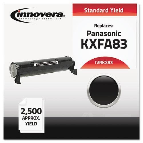 INNOVERA KX83 Compatible with KXFA83 Laser Toner, 2500 Yield, Black