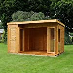 summerhouse with side shed