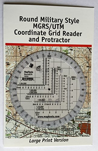 Metric To Standard >> MapTools Round Military Coordinate Scale and Protractor