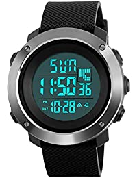 Men's Digital Sport Watch Led Military 50M Waterproof...