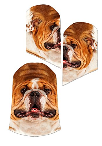 Bulldog Mask - One Size Fits (Look At Costumes)