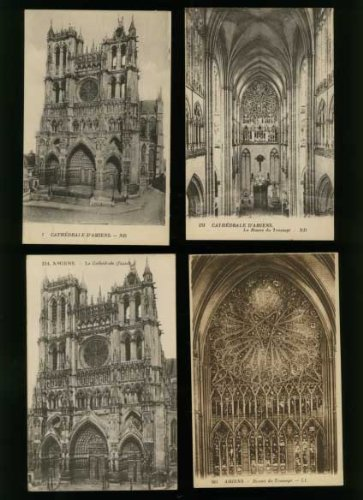 Cathedral of Our Lady of Amiens (1940's postcards)