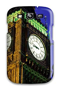 TsyenMl1528QuFFI Case Cover, Fashionable Galaxy S3 Case - Timeless History St. Stephen's Tower England