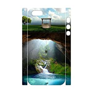 WJHSSB Cell phone Protection Cover 3D Case Fantasy Fairy Tale For Iphone 5,5S