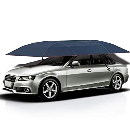 Amazon Com Jolitac Car Tent Semi Automatic Portable Car Umbrella