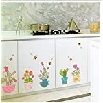 Buzdao Be Amazing Today Wall Sticker Decal Poster Mirror Bathroom Home Decor Mural DIY Stickers Living Room 40X9Cm
