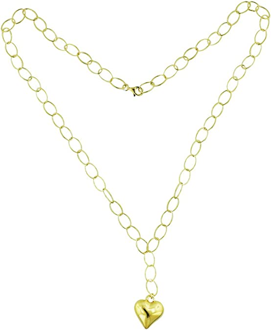 925 Sterling Silver Yellow Gold-Plated Official Texas AandM University Large Enl Pendant Necklace Charm Chain Width = 22mm with Secure Lobster Lock Clasp 18