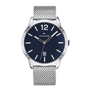Tommy Hilfiger Reloj Analógico para Hombre de Cuarzo con Correa en Acero Inoxidable 1791500 8