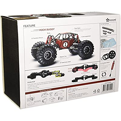 G-Made 51000 Crawler R1 Rock Buggy: Toys & Games