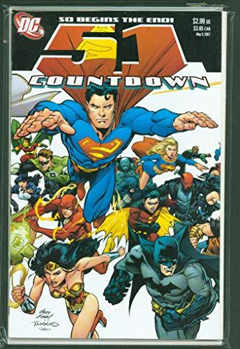 COUNTDOWN TO FINAL CRISIS #1-51 Complete Set Comic Lot Full Run 1st print CBX1X