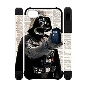 Doctor Who Tardis Police Box Iphone 4S Case Hard Doctor Who Iphone 4 Cover HD Image Snap ON