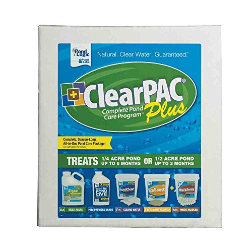 (Pond Logic ClearPAC Plus - 1/4 Acre)